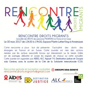 Rencontre Droits Migrants @ Complexe Martin Luther King |  |  |