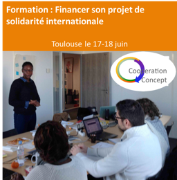 Formation : Financer son projet de solidarité internationale @ 31000 |  |  |