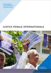 "Formation e-learning ""Justice pénale internationale"" @ Formation e-learning"