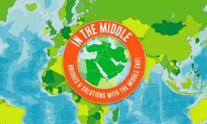 "conférence "" In the middle, bridges and solutions with the Middle East"" @  Maison de l'Amérique latine"